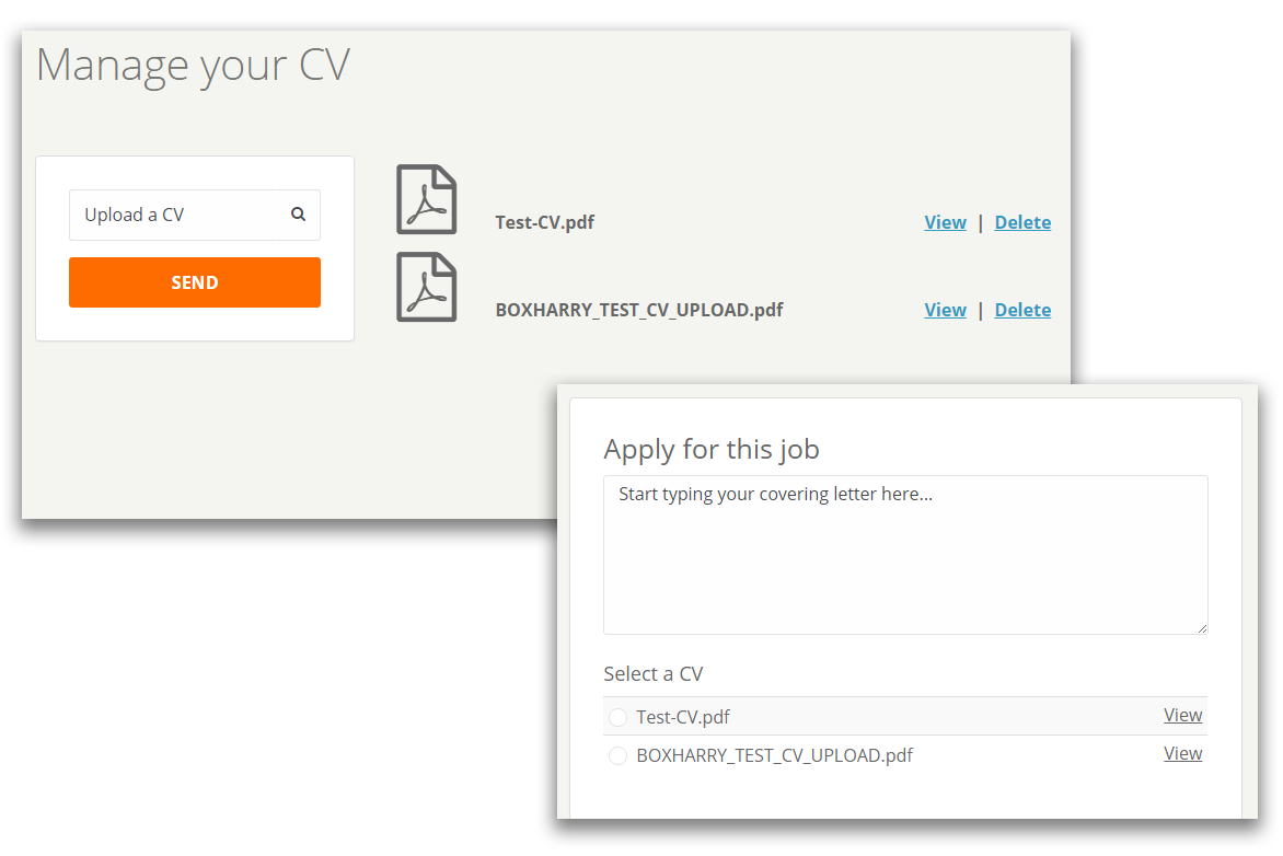 how it works recruit agent candidate jobs portal each cv can be sent to a cv parsing service such as daxtra or burning glass for inclusion in your crm